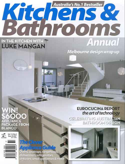Kitchen bathrooms magazine jbm projects Queensland kitchen and bathroom design magazine