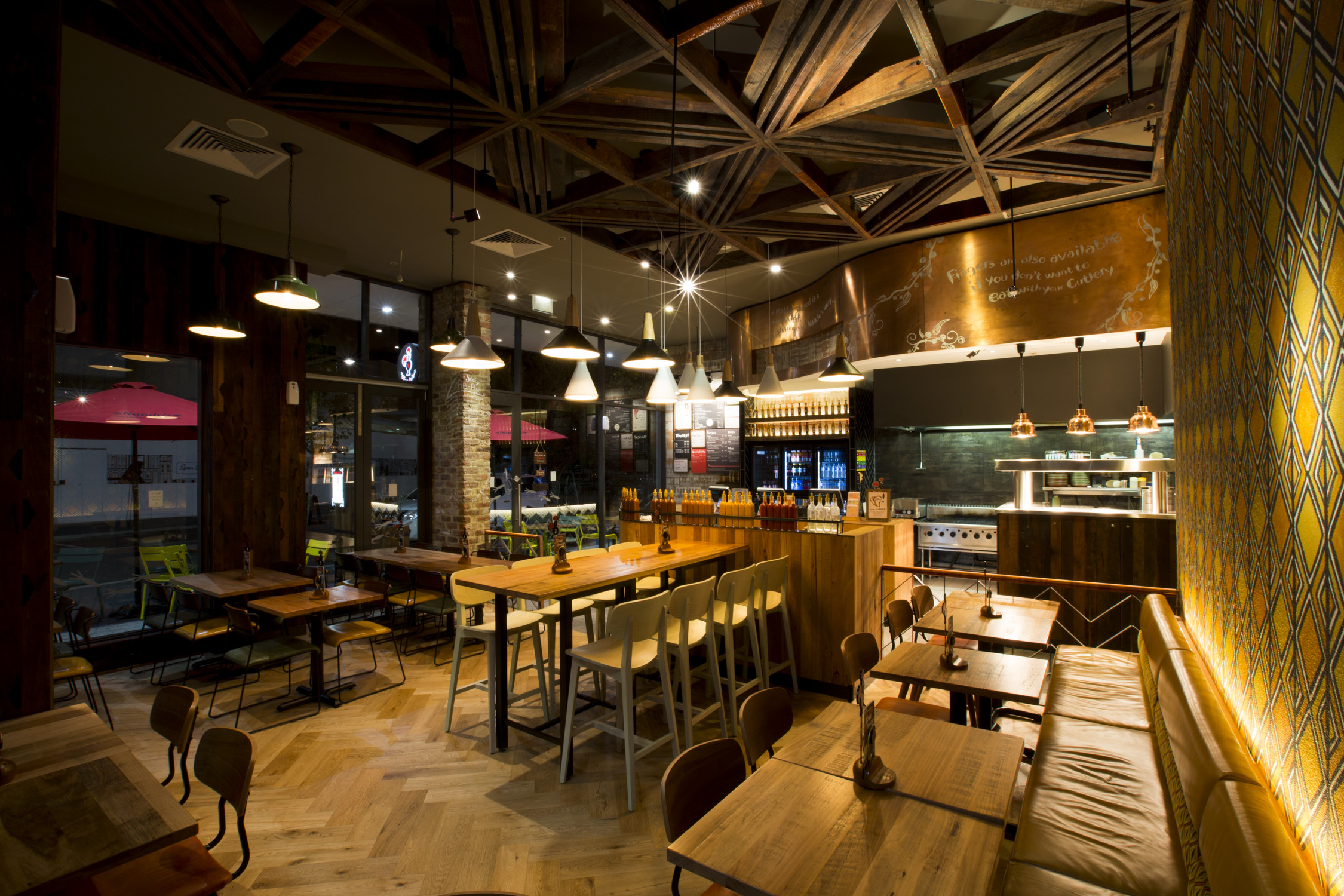 Nando S Rockhamptom Restaurant Fitout Jbm Projects